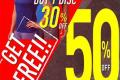 โปรโมชั่น Reebok Midyear Sale 2018 สินค้าซื้อ 1 แถม 1 ฟรี และ ลดสูงสุด 50% วันนี้ ถึง 9 กรกฎาคม 2561