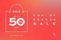 โปรโมชั่น LYN END OF SEASON SALE สินค้า ลดสูงสุด 50% ที่ LYN ทุกสาขา วันนี้ ถึง 26 มิถุนายน 2562