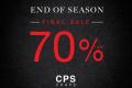 โปรโมชั่น CPS CHAPS Final Sale 70% Off สินค้า ลดสูงสุด 70% วันนี้ ถึง 3 กรกฎาคม 2562