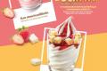 โปรโมชั่น แมคโดนัลด์ ไอศกรีม เมนูใหม่ สตรอว์เบอร์รี่ ชีสเค้ก ที่ Mcdonald's วันนี้ ถึง 25 ตุลาคม 2561