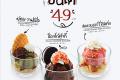 โปรโมชั่น ยาโยอิ โคอิสุรุ ซันเด ไอศกรีม ราคาพิเศษ ที่ ร้านอาหารญี่ปุ่น Yayoi วันนี้ ถึง 31 ตุลาคม 2561