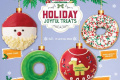 โปรโมชั่น คริสปี้ครีม โดนัท หน้าใหม่ Holiday Joyful Treats ที่ Krispy Kreme วันนี้ ถึง 15 มกราคม 2562