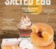 โปรโมชั่น คริสปี้ครีม โดนัท เมนูใหม่ Salted Egg Filled Ring Doughnut โดนัท สอดไส้ ไข่เค็มลาวา และ Mango Summer Delight โดนัท มะม่วง ที่ Krispy Kreme วันนี้