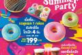 โปรโมชั่น Dunkin Donut โดนัท เมนูใหม่ Dunkin' Summer Party ที่ร้าน ดังกิ้น โดนัท วันนี้