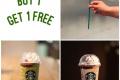 โปรโมชั่น สตาร์บัคส์ ซื้อ 1 แถม 1 ฟรี เครื่องดื่ม Matcha Azuki Crème Blossom Frappuccino® หรือ Azuki Crème Blossom Frappuccino® ที่ Starbucks วันนี้ ถึง 22 เมษายน 2562